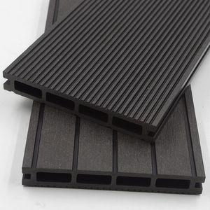 WPC Terrassendielen - Anthrazit Variantenauswahl, Quadratmeter:10m²
