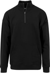 Urban Classics Pullover Sweat Troyer Black-XL
