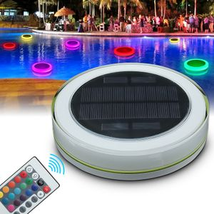 RGB Unterwasser Schwimmbad LED Solarlampe Poolbeleuchtung Teichlampe Poollicht