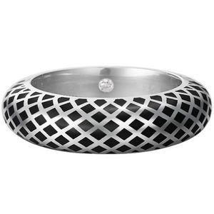 Esprit Jewel Lattice Ring ESRG91919A Damenring Rhodiertes Sterling Silber, Ringgröße:57 / 8 / L / 18mm