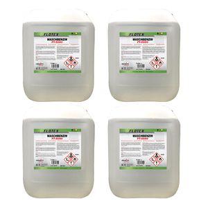 Flotex Waschbenzin, 4 x 5L Reinigungsbenzin Textil & Kunststoff, Oberflächen & Arbeitsgeräte