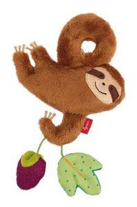 sigikid Anhänger Faultier, Greifling, Rassel, Babyschalenanhänger, Babyspielzeug, Baby Spielzeug, für Babyschale, Polyester, 41437