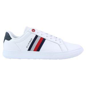 Tommy Hilfiger Essential Sneaker Herren Weiß (FM0FM03424 YBR) Größe: 43