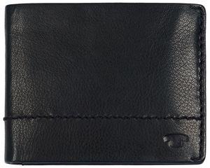 TOM TAILOR Herren Geldbeutel Portemonnaie Geldbörse mit RFID-Schutz Schwarz 7671