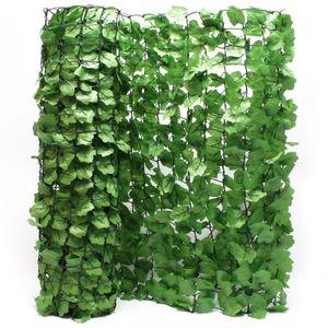 Sichtschutznetz Blätteroptik 300cm x 150cm Mauerabdeckung Sichtschutz Plane Netz