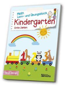 Mein Lern- & ÜbungsblockKindergarten: Erste Zahlen