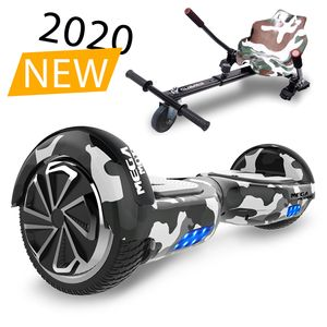 "Elektro  Hoverboard mit hoverkart E-Board 6,5"" Smart Self Balance Scooter  Bluetooth eingebaute Geschenk für Kinder - Elektro Roller EU-Standards"