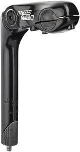 Humpert Kobra Vario Vorbau Schaft 25,4x180mm Lenker Ø25,4mm schwarz Länge 110mm