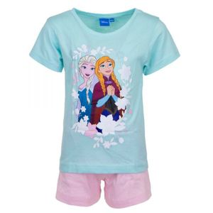 Disney Die Eiskönigin Shorty Pyjama, blau-rosa, Gr. 92-116 Größe - 104