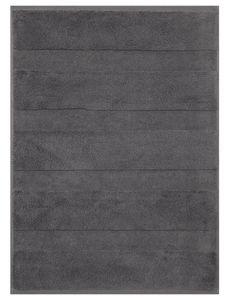 Betz Badvorleger Badteppich DELUXE, Größe 50x70 cm, 100% Baumwolle, Farbe anthrazit grau