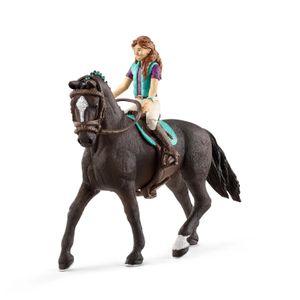 Schleich Horse Club Mädchen 3 & Hannoveraner Wallach