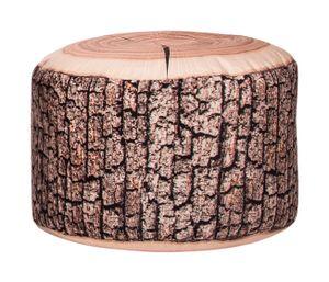 Magma Heimtex Sitting Point Sitzsack, Sitzhocker DotCom WOOD, D50x30 cm 60 l natur; 31090 080