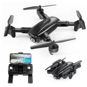 Faltbare GPS FPV Drohne mit 1080P Full HD Kamera-Live-Video SNAPTAIN, GPS Drohne mit GPS-Heimkehr und Gestensteuerung, Kreis fliegen, Follow-Me-Modus und 5G WiFi Übertragung