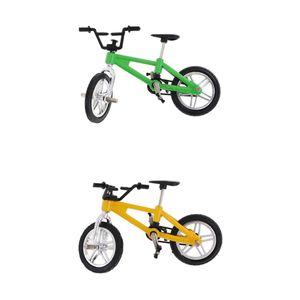 2er-Set Finger Fahrrad Mini-Spielzeug Multi-Color-Kind-Geschenk Sport fuer Kinder