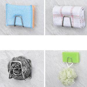 Küche Schwammhalter Klebehaken Waschbecken für Schwamm, Topfkratzer, Spülbürste