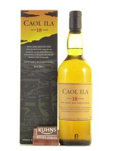 Caol Ila 18 Jahre Islay Single Malt Scotch Whisky 43% Vol. 0,7l
