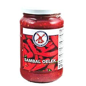 370g Sambal Oelek scharfe rote Chilipaste Windmill Chili Paste Chilli Paste