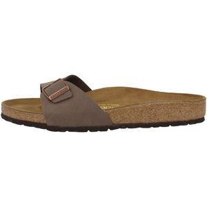 BIRKENSTOCK Madrid Damen Slipper Braun Schuhe, Größe:39