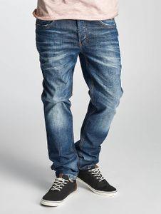 Cipo & Baxx Männer Straight Fit Jeans Engels in blau Cipo & Baxx