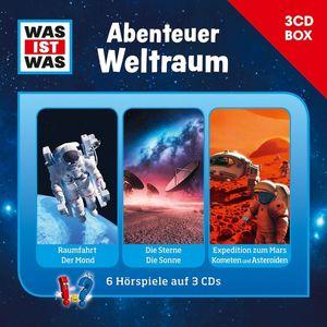 Was Ist Was - Was Ist Was 3-CD Hörspielbox Vol.6-Weltraum - CD