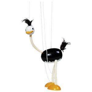Goki - Marionette Vogel Strauß aus Holz
