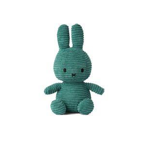 Miffy Cord-Plüschfigur (grün, 24cm) Kuscheltier Stofftier Hase Plüschtier