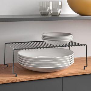 Schrankeinsatz Tellerregal Küchenregal Ablage Fachteiler Teller Organizer