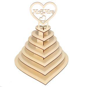 Mr&Mrs Herz Baum Hochzeit Display Stand Herzstück Schokolade Ferrero Rocher Bar