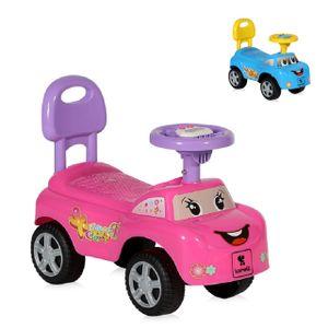 Lorelli Rutscher Kinderauto My Friend, ab 12 Monaten, Musikfunktion, Rückenlehne, Farben:rosa