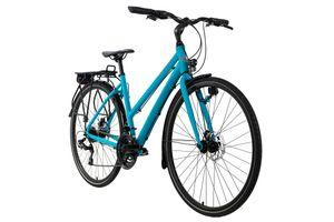 Trekkingrad Damen 28'' Antero blau Aluminiumrahmen RH 53 cm KS Cycling