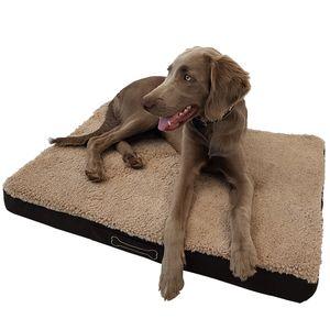 Orthopädisches Haustierkissen Benji M 79 x 60 x 8 cm – optimaler Liegekomfort für Ihr Haustier – viscoelastische Hundematratze mit abnehmbaren Bezug und Antirutschbeschichtung