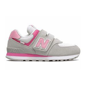 New Balance Mädchen Sneakers in der Farbe Grau - Größe 28