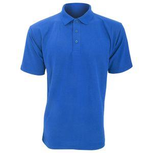 UCC 50/50 Pique Polo Shirt für Männer BC1194 (4XL) (Königsblau)