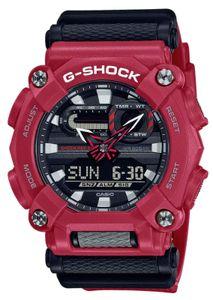 Casio G-Shock Armbanduhr GA-900-4AER rot schwarz