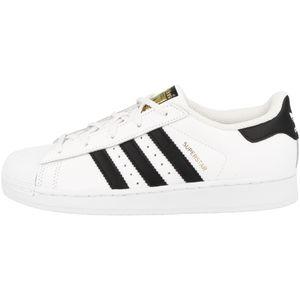 adidas Originals Superstar Foundation Kinder Sneaker Weiß Schuhe, Größe:29