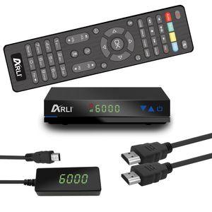 ARLI HD Sat Receiver AH1 mini Digital HDTV Satelliten DVB-S2 HDMI Astra Hotbird Türksat Kanalliste