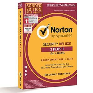 Symantec Norton Security Deluxe 3.0 2+1 Geräte 1Jahr CardCase
