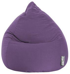 Sitzsack BeanBag Easy XL 110 x 70 cm,  Lila Bbxl