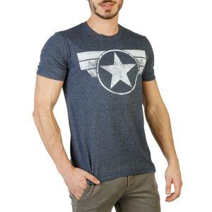 Marvel Herren Marken T-Shirt, Freizeitshirt, RFMTS956, Größe:S, Farbe:Grau, Herstellerfarbe:gray.white