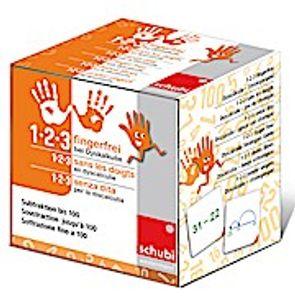 1-2-3 fingerfrei bei Dyskalkulie (Spiel). Tl.3