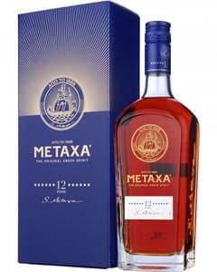 Metaxa 12 Sterne The Original Greek Spirit in Geschenkpackung | 40 % vol | 0,7 l