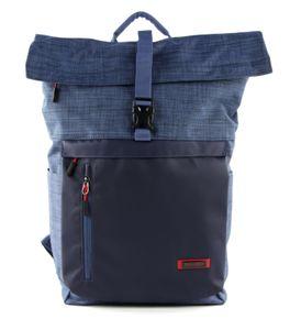 travelite Proof Rollup Backpack Marine