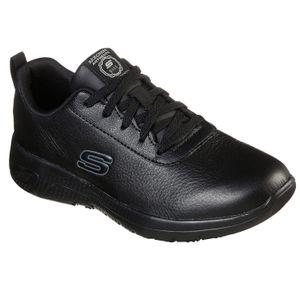 Skechers Womens Work Marsing Gmina  Arbeitsschuh Berufsschuh Sneaker 108010EC schwarz, Schuhgröße:38 EU