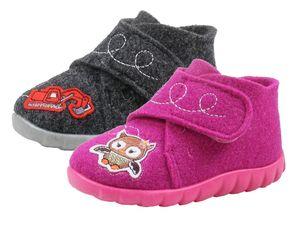 Rohde 2072  Schuhe Kinder Hausschuhe , Größe:22 EU, Farbe:Grau