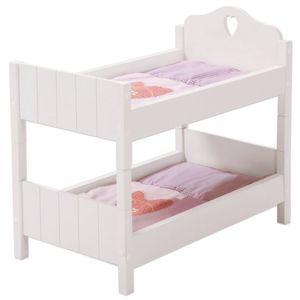 roba 98331, Puppenbett/Kinderbett, 3 Jahr(e), Pink, Weiß, MDF, 2 Sitz(e), Kind