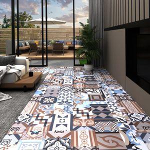 PVC-Laminat-Dielen Selbstklebend 5,11 m² Mono-Muster