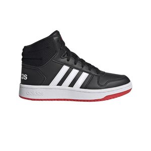 adidas Hoops Mid 2.0 K Jungen Sneaker high in Schwarz, Größe 33
