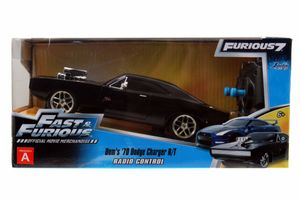RC Fast & Furious 1970 Dodge Charger (Street) 1:24