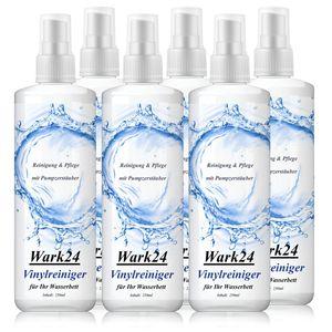 Wark24 Vinylreiniger für Ihr Wasserbett 250ml - Reinigung & Pflege (6er Pack)