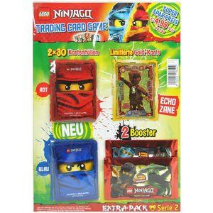 LEGO Ninjago - Serie 2 Trading Cards - Extra-Pack - Deutsch